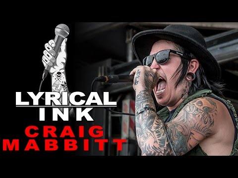 Tattoos and Music - Craig Mabbitt | Lyrical Ink