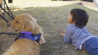 少年と大型犬の最強コンビが可愛すぎた・・・