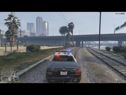 Grand Theft Auto V [ POLICE CRIME]