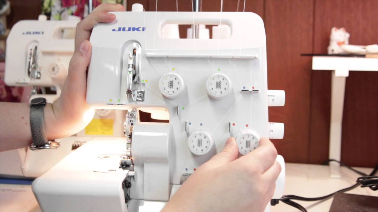 serger 101 threading the juki mo 654de machine for roll hemming by rh youtube com User Webcast Clip Art User Guide