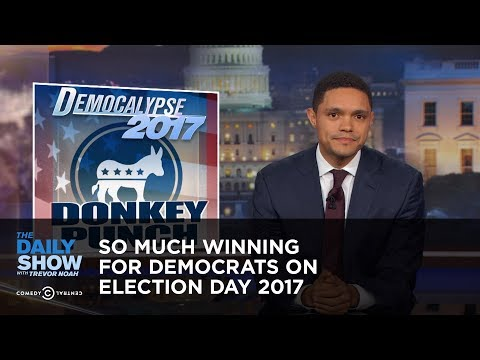 So Much Winning for Democrats on Election Day 2017: The Daily Show