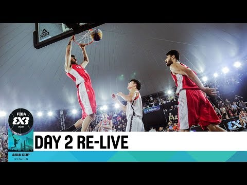 Live 🔴 - FIBA 3x3 Asia Cup 2018 - Day 2 - Pool Phase (2/2)