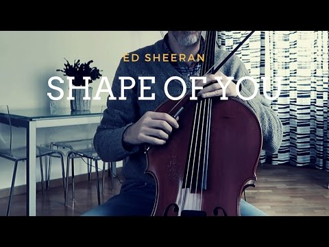 Ed Sheeran - Shape of you for cello and piano (COVER)