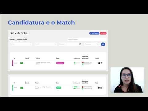 Plataforma Marfin Business - Candidatura e Match