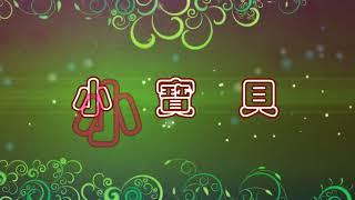 小寶貝 特效karaoke字幕