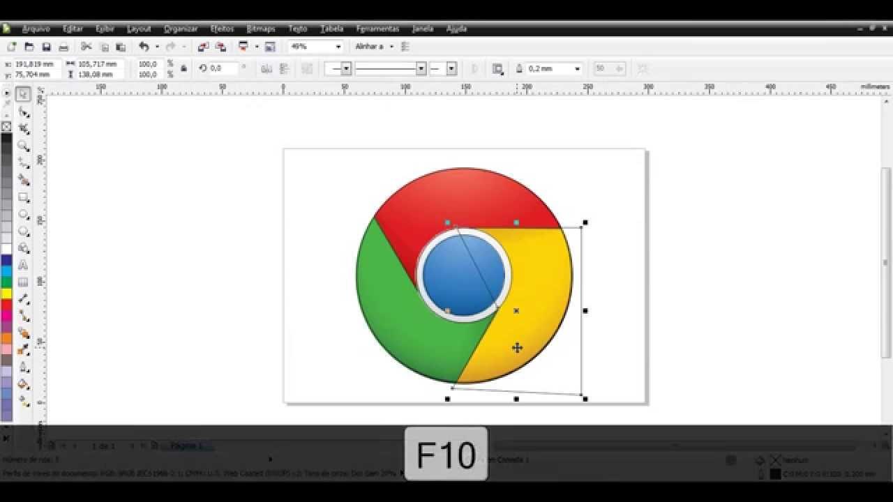 Vetorizando logo google chrome no coreldraw x5 youtube vetorizando logo google chrome no coreldraw x5 ccuart Choice Image
