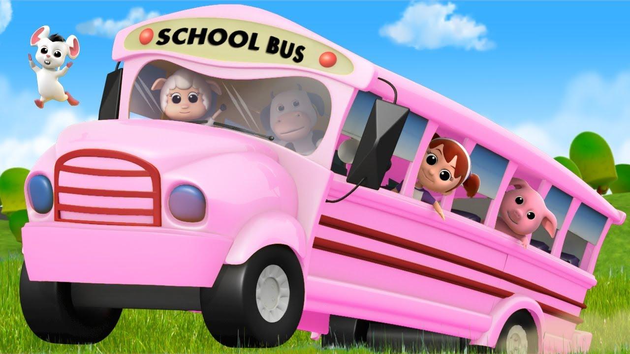 Wheels On The Bus | Nursery Rhymes For Kids | Baby Rhyme ...