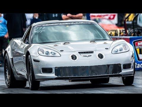 Fastest Stick Shift Corvette EVER - 2000HP on BOOST!