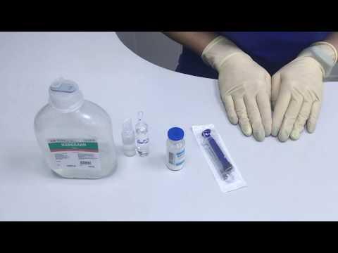 Как развести антибиотик.Как приготовить суспензию из порошка.Как разбавить антибиотик