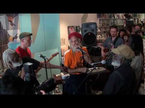 The Congos Live @ Northside Records: 'Children Crying' & 'Fisherman' (HD)