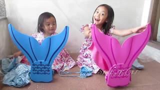 Mermaid Lifia Niala | Kostum Baju Putri Duyung Anak anak dan Balon Ajaib