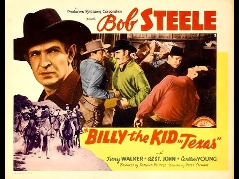 Billy The Kid in Texas western movie complete
