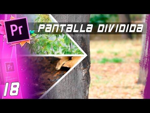 EFECTO PANTALLA DIVIDIDA | Cap:18 | Curso Adobe Premiere Pro CC 🎬