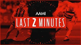 AAMI Last Two Minutes: Hawthorn v Geelong | Round 21, 2018 | AFL