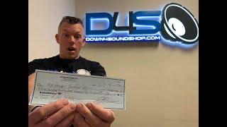JOHNATHAN PRICE WRITES A CHECK FOR $337,000!