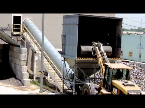Tour Of Kansas City Ripple Glass Recycling Plant