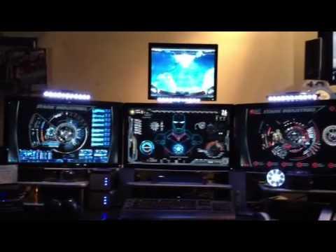 Ed S Iron Man Tony Stark Man Cave Youtube