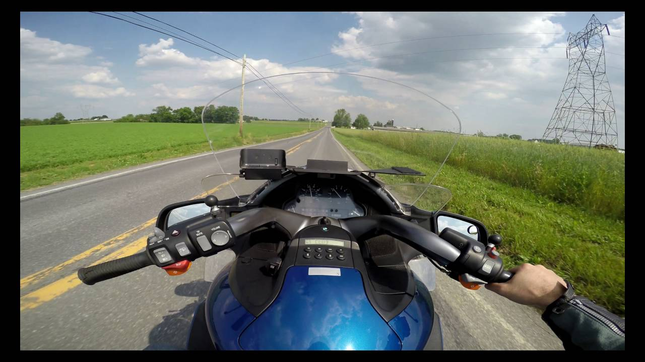 2002 BMW k1200lt test drive review - YouTube