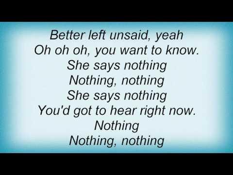 Bangles - Silent Treatment Lyrics
