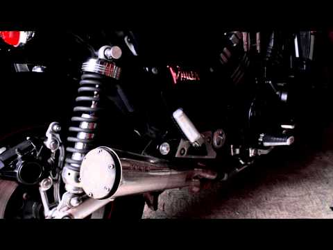 Motorcycle Exhaust: Supertrapp Megaphone Series - YAMAHA 2007 VMX1200