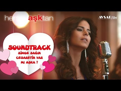 Simge Cesaretin Var Mi Aska Lyrics English Translation