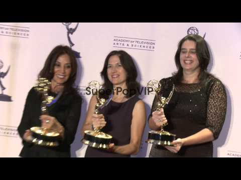 Olivia Harrison at 2012 Creative Arts Emmy Awards - Press...