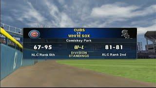 MVP Baseball 2003 Gameplay 2 - Cubs vs White Sox at Comiskey Park