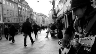 The times they are a changing - Bob Dylan Acoustic street cover