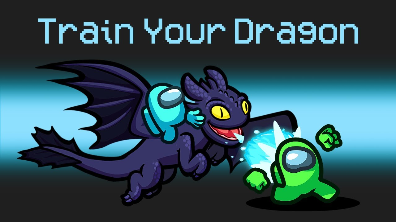 Download *NEW* HOW TO TRAIN YOUR DRAGON in AMONG US!