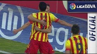 Resumen de Getafe CF 2-5 FC Barcelona - HD