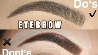 EYEBROW HACKS: Do