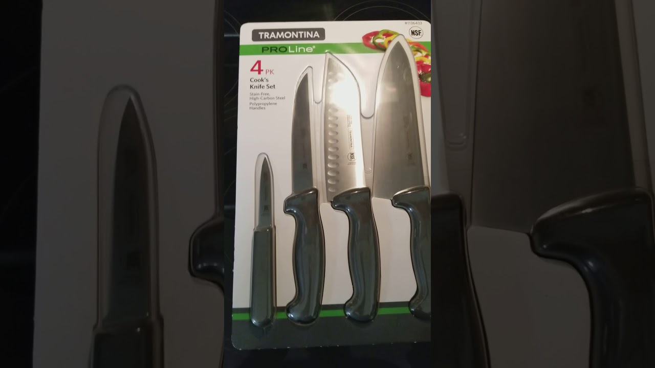 Costco Best Tramontina Kitchen Knife Set