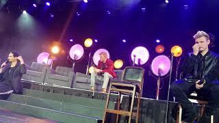 Backstreet Boys Cruise 2018- Kevin Talks with Us [Group B]
