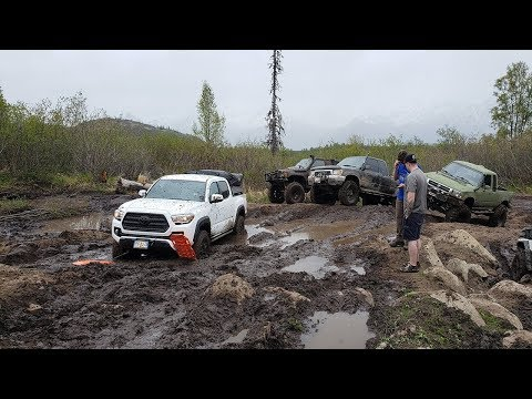 ALASKA 4X4 OFF-ROAD | CRAZY MUDDING | ESKA FALLS