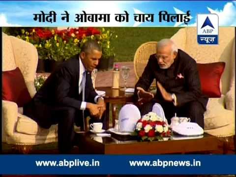 'Chai Pe Charcha' : PM Modi with US President Obama at Hyderabad House