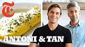 Queer Eye's Antoni Challenges Tan to Cook a French Omelet | NYT Cooking