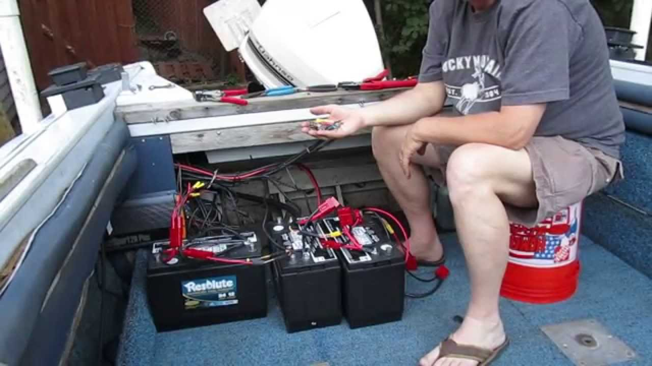 Connect ease. 24v trolling motor battery connection using the