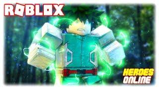 HEROES ONLINE de MY HERO ACADEMIA en ROBLOX!!!