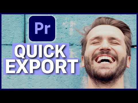 Adobe Premiere Pro New QUICK EXPORT Feature Explained