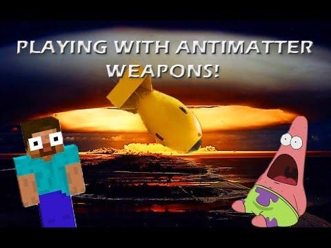 Anti matter weapons
