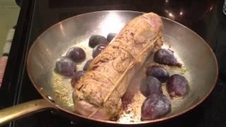 Pork Tenderloin With Fig Sauce Recipe From Yvonne's English Garden Cookbook