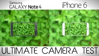 samsung galaxy note 4 vs iphone 6 plus camera comparison test