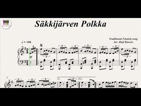 Säkkijärven Polkka, (Карело - финская полька), Piano