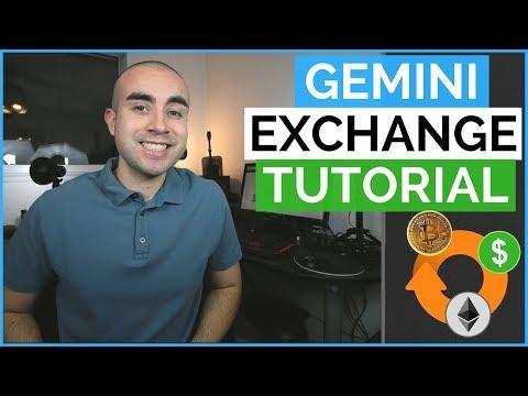 Gemini Exchange Tutorial - How To Buy Bitcoin On Gemini