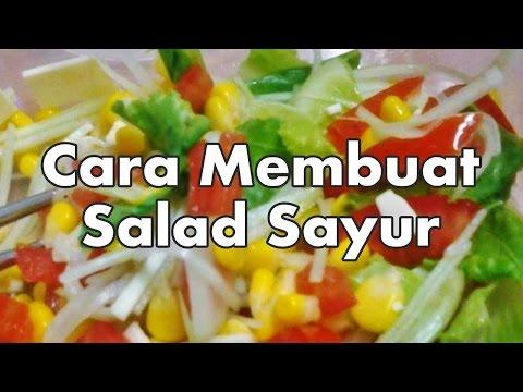 14 Salad Sayur Untuk Diet Sehat yang Wajib Dicoba (Paling Lengkap)