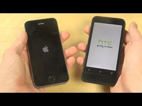 iPhone 5S iOS 11 Beta 2 vs. HTC One V - Which Is Faster?