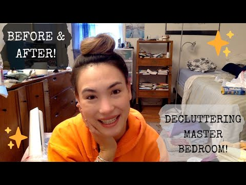Transformation - Decluttering The Master Bedroom - Well Behaved At Home!