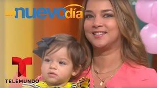 ¡Hermosa y emotiva sorpresa le da Alaia a su mamá!   Un Nuevo Día   Telemundo