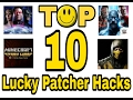Top 10 Games you can Hack with Lucky Patcher