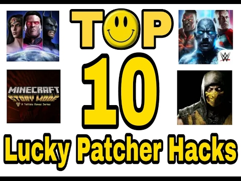 Top 10 Games You Can Hack With Lucky Patcher Youtube